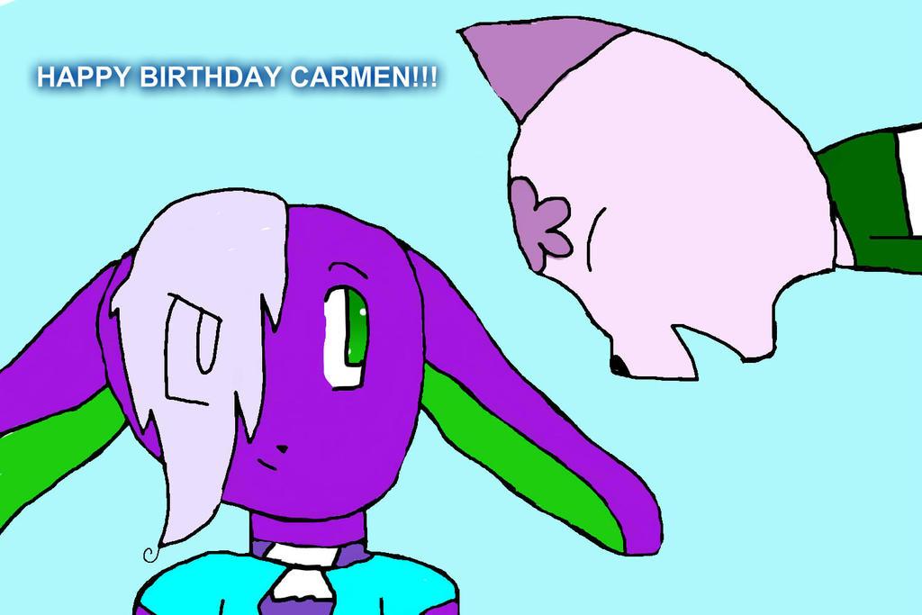 Happy birthday carmen by anakiinskywalkerr on deviantart - Happy birthday carmen images ...