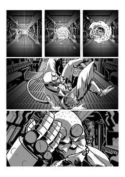 Hellboy/Alien Page 1