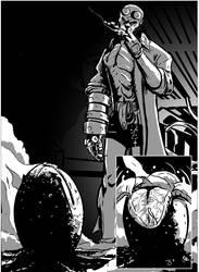Hellboy/Alien Page 2 by TheTrueBishop