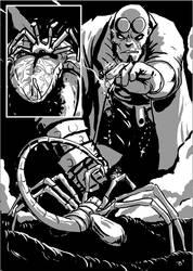 Hellboy/Alien Page 3 by TheTrueBishop
