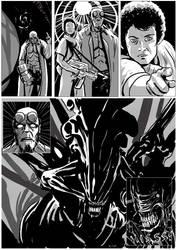 Hellboy/Alien page 11