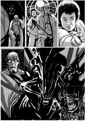 Hellboy/Alien page 11 by TheTrueBishop