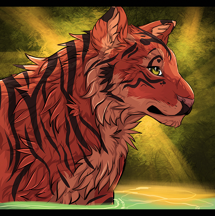 Tiger by MapleSpyder