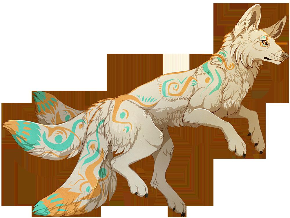 Kitsune by MapleSpyder