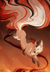 Mystery Kitsune [Speedpaint]