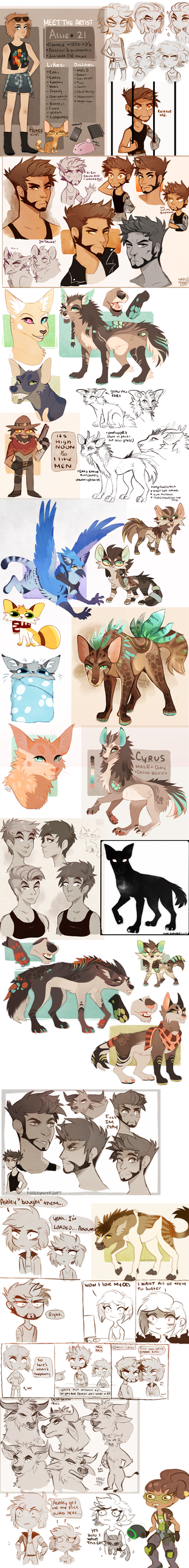 Sketchdump X by MapleSpyder