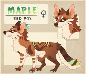 Maple Reference - 2018