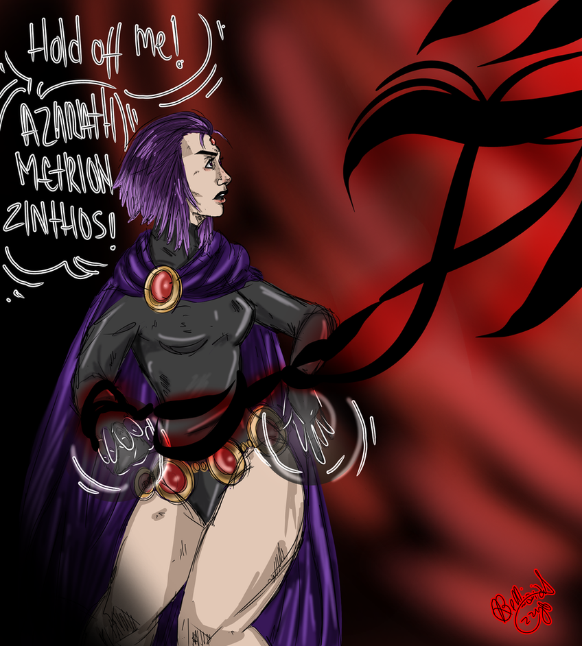 Raven Azarath Metrion Zinthos! (Teen Titans) by IzzyKenway23