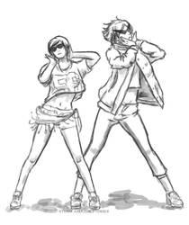 Striders Generation doodle