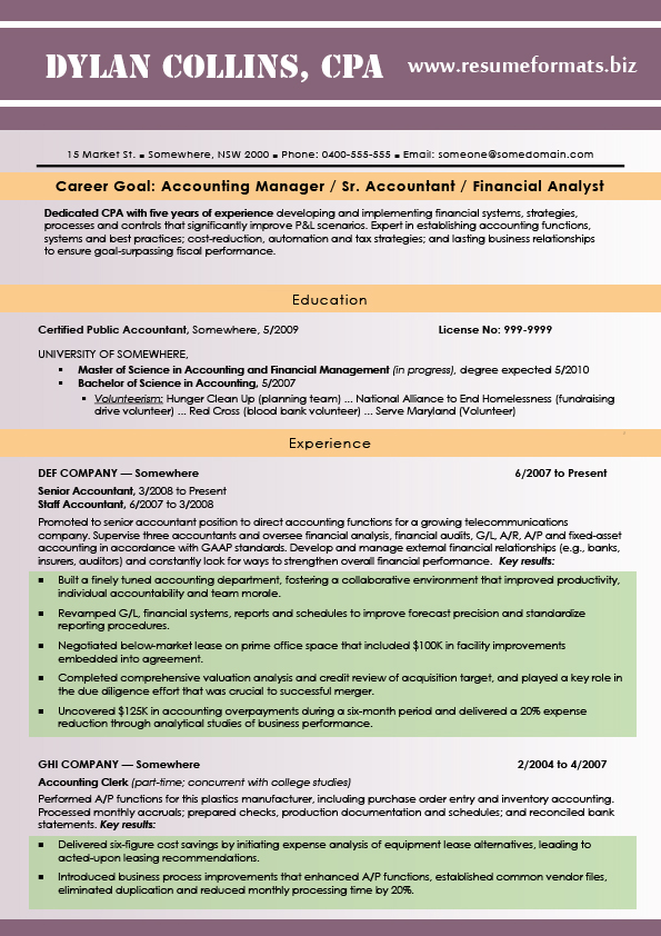 bright resume styles 2015 by resumeformats on deviantart