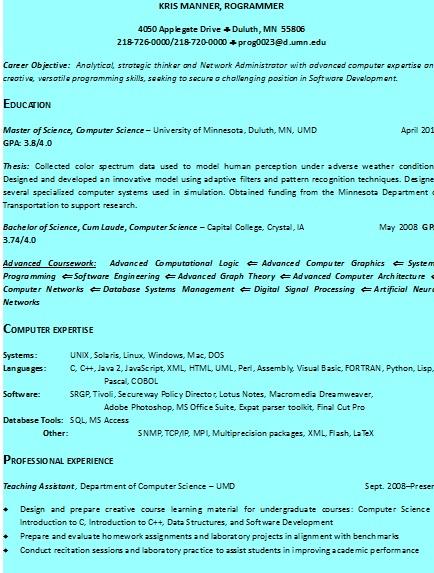 standard resume format by resumeformats on deviantart