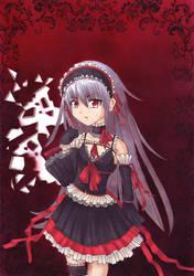 Goth Lolita by blazerazgriz