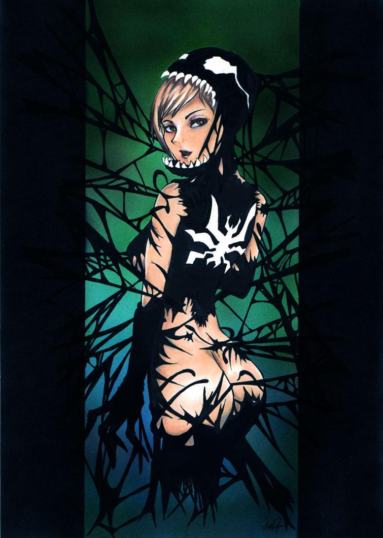 She-Venom by blazerazgriz
