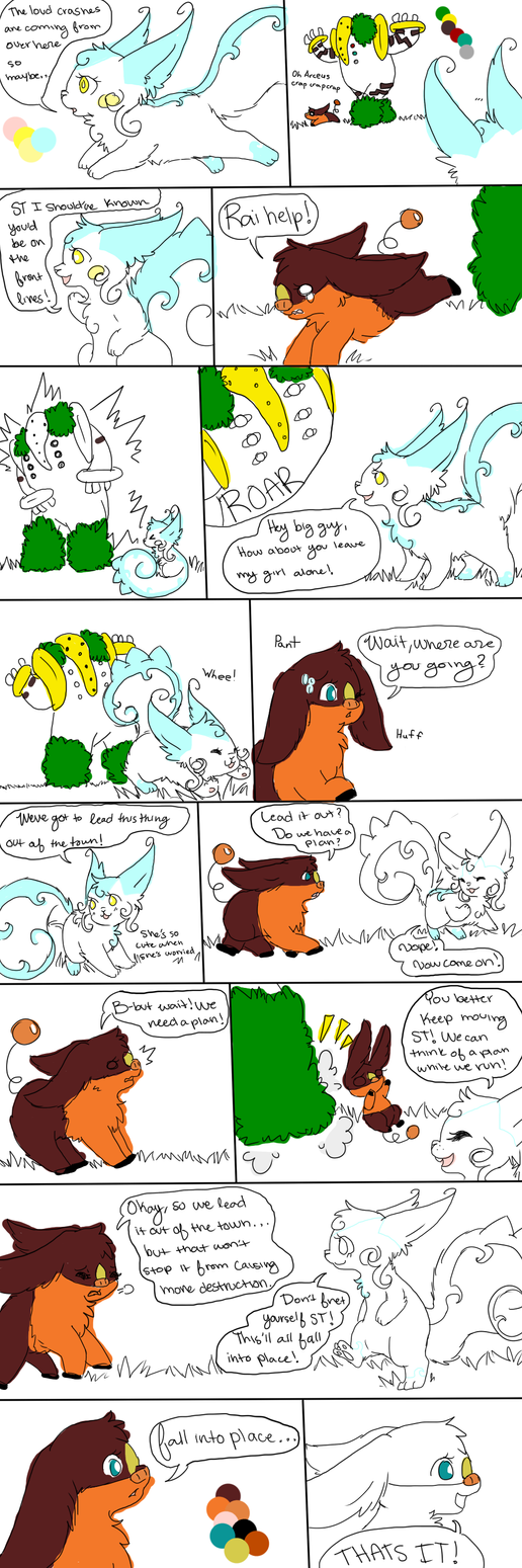 TLL Mission 1 PAGE 3 (WIP) by MixedMelodies