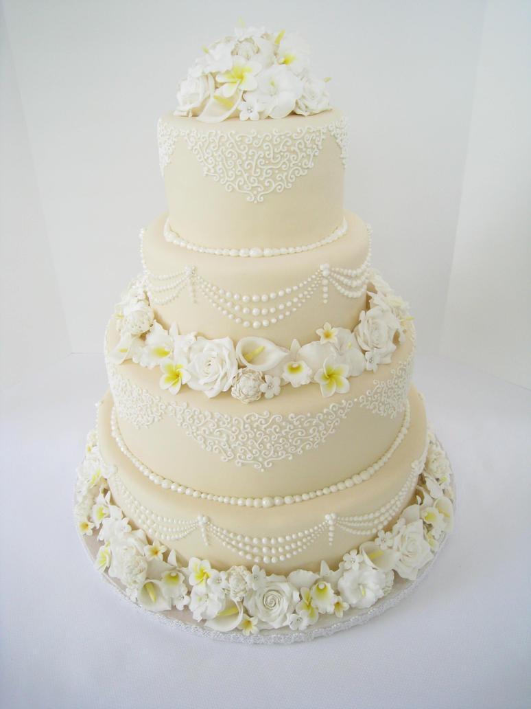 2011 ACF Wedding Cake by Kiilani