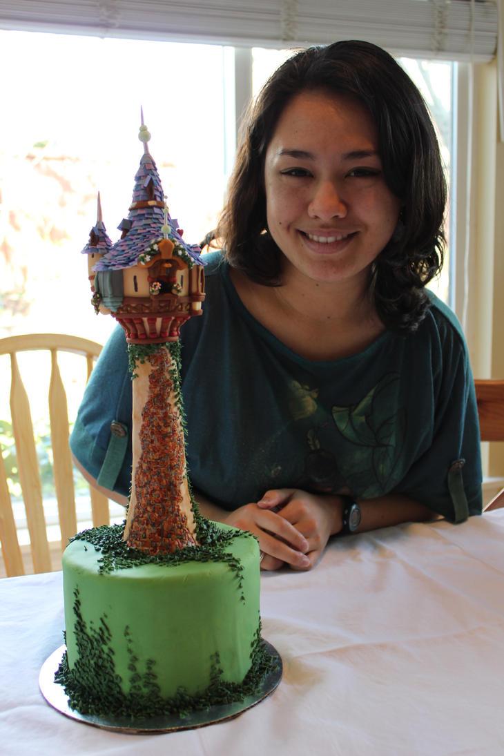 A tower and a princess by Kiilani