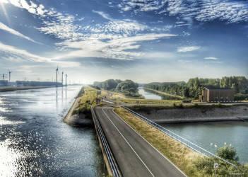 Rotterdam - Maasvlakte HDR by Jportphoto