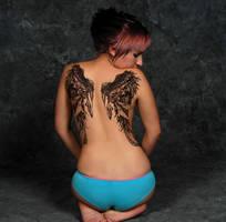 back tattoo by islandmolly