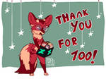 Thank you! by VileKeyKeeper