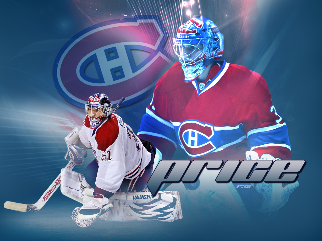 carey price wallpaper by rob38 on deviantart