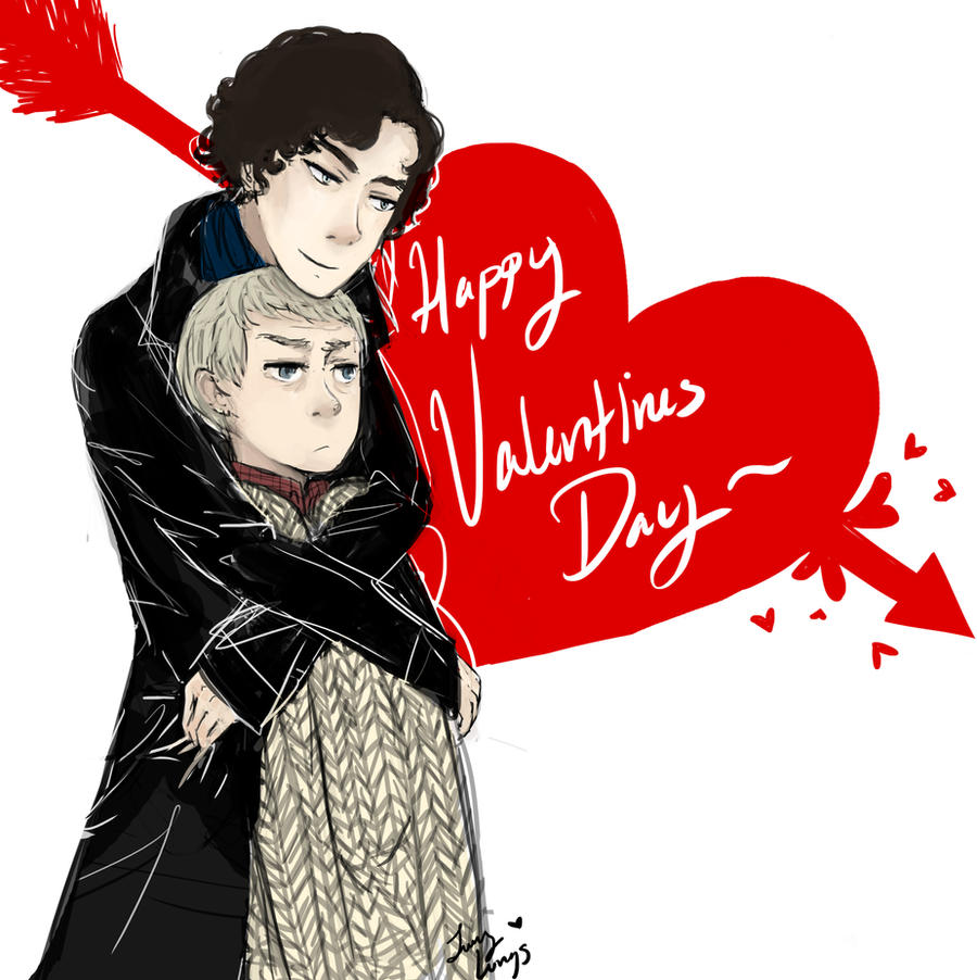 Happy Valentines Day by DaintyMendax