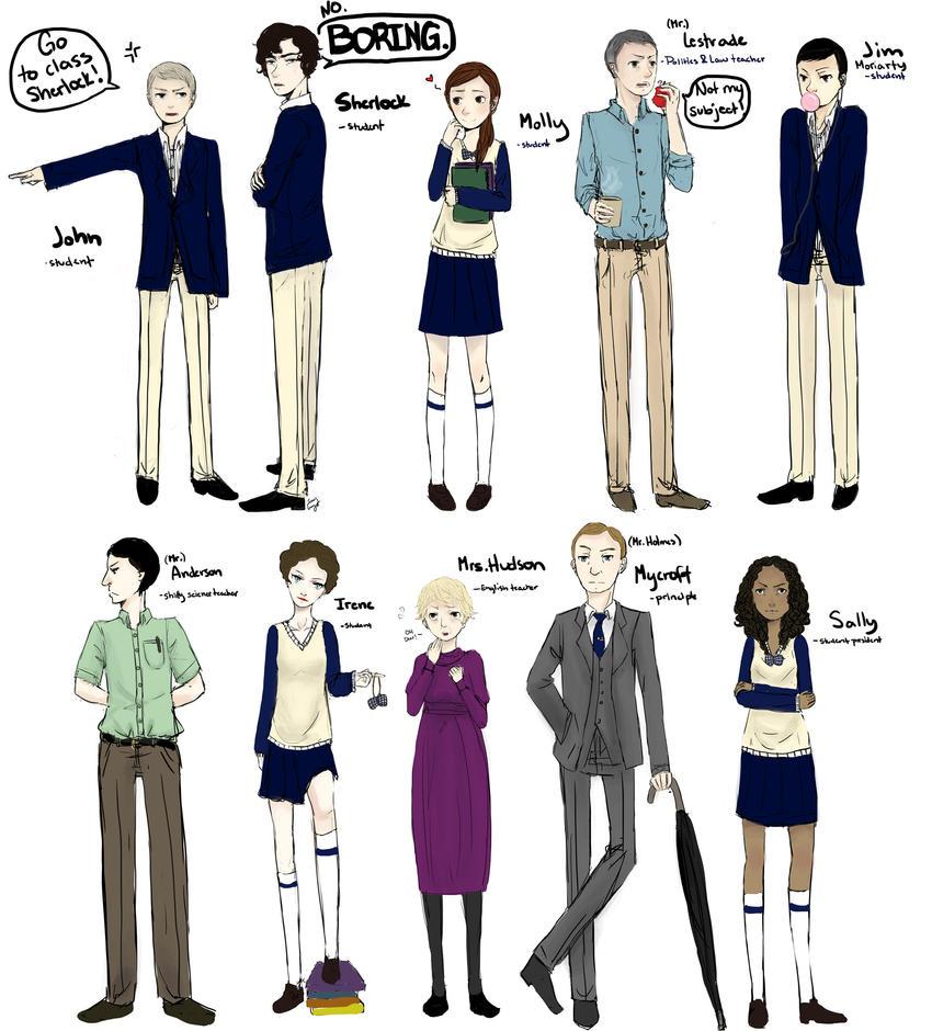 School Boys by DaintyMendax