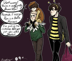 Honey Bees by DaintyMendax