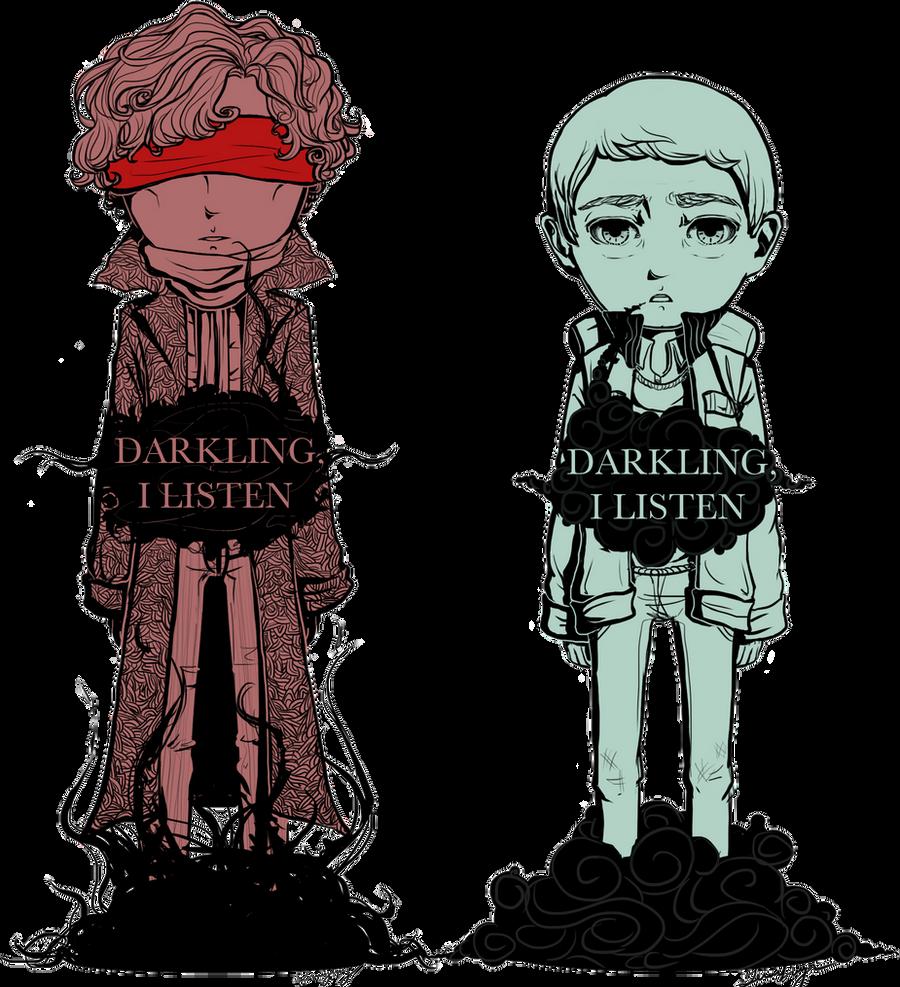 Darkling, I Listen by DaintyMendax