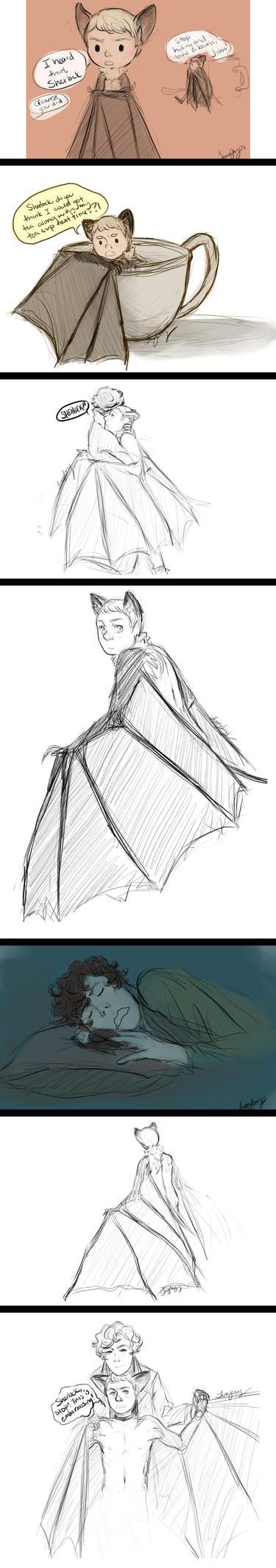 Batjohn Doodles~ by DaintyMendax