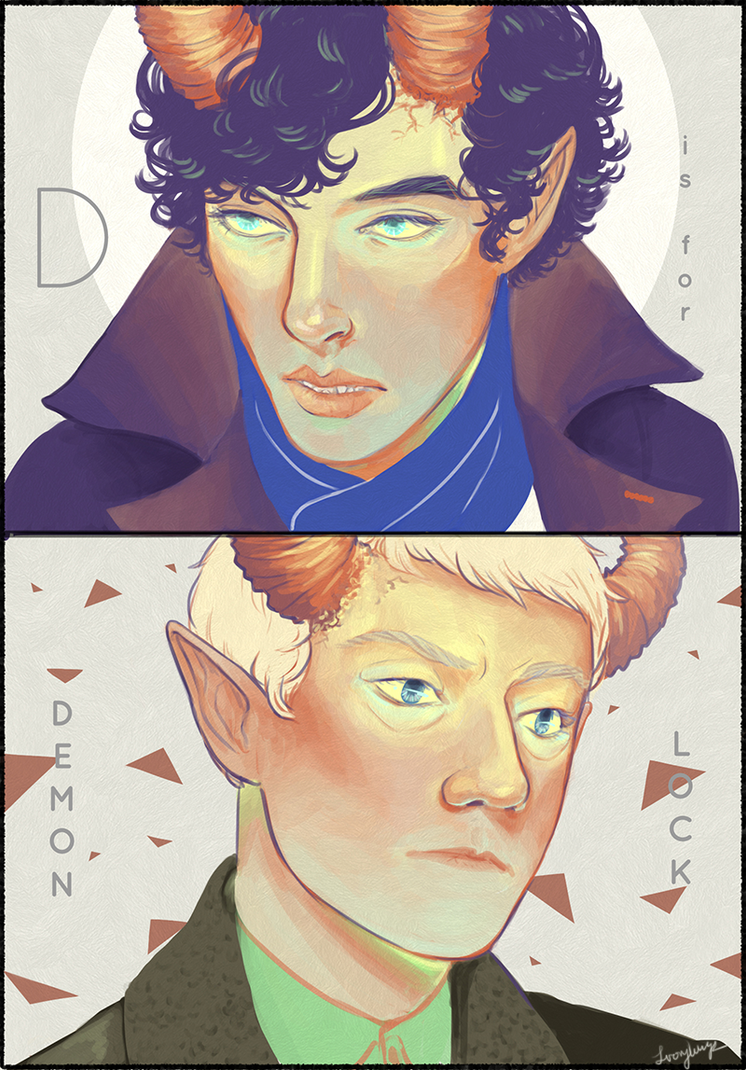 D is for Demonlock by DaintyMendax
