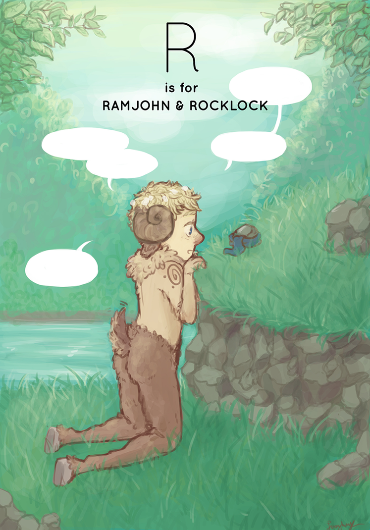 R is for Ramjohn and Rocklock by DaintyMendax