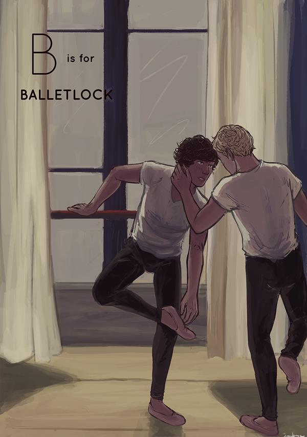 B is for Balletlock by DaintyMendax
