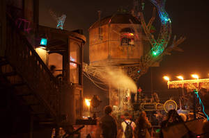 Steampunk Tree House and KSW