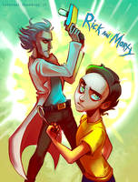 Rick And Morty by InfernalGuard