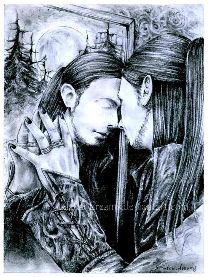 l 39 autre monde dans le miroir by dafca dreams on deviantart