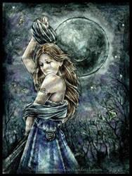 La lune noire I by Dafca-dreams