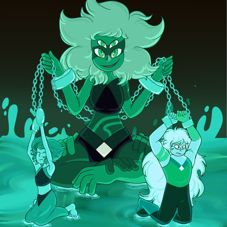 They're Malachite Now by Mr--Universe
