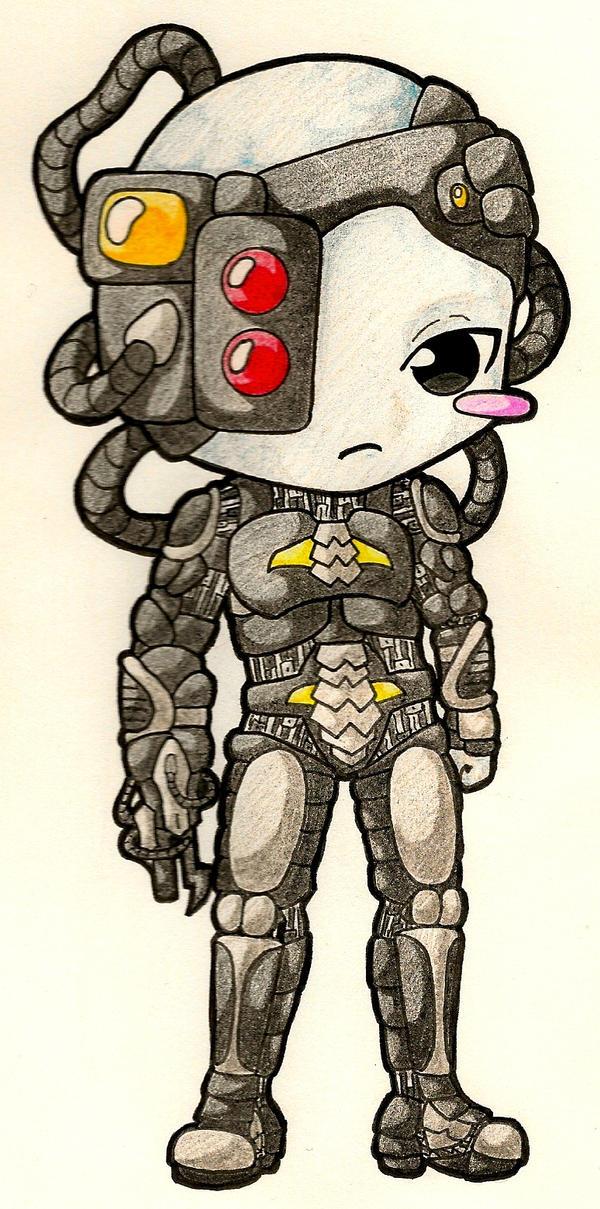 Chibi Borg by AiChibiAi