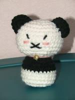 Crochet Panda Plush by AiChibiAi