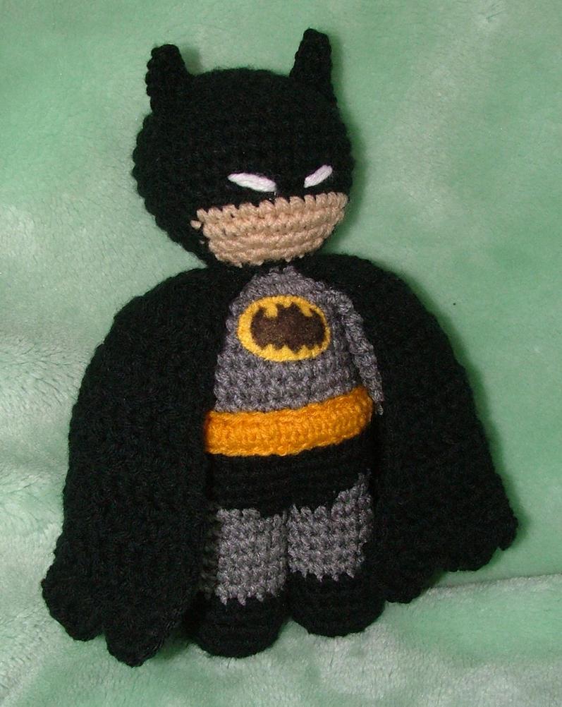 Batman Amigurumi Crochet Pattern Free : Because Im Batman by AiChibiAi on DeviantArt