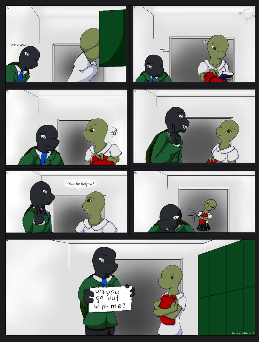 TMNT-U_Comic by Yhana