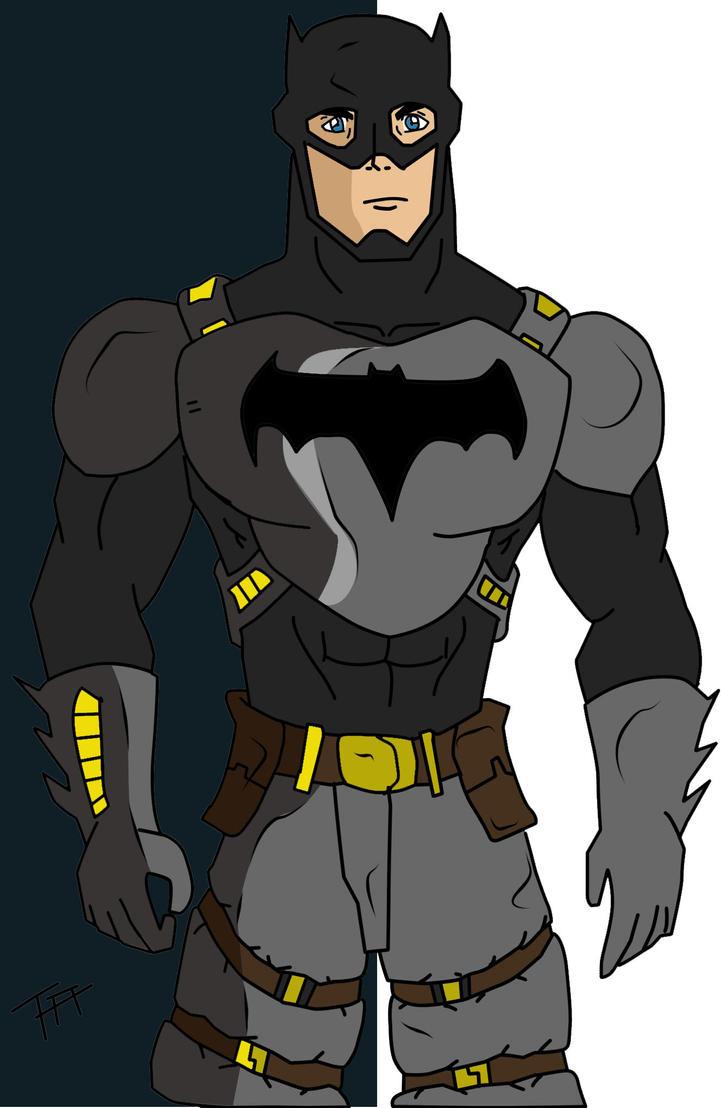 Batman Redesign by Fernandogoku0