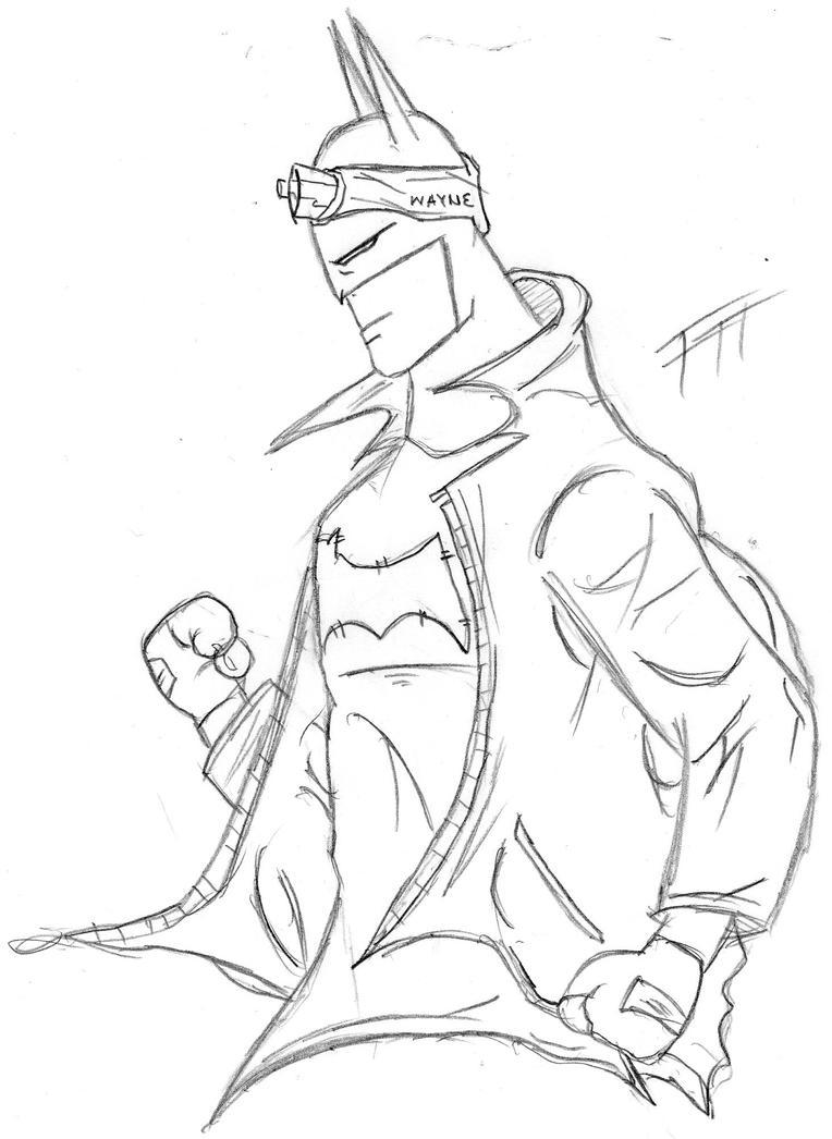 Common Batman by Fernandogoku0