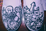 doodle on shoes