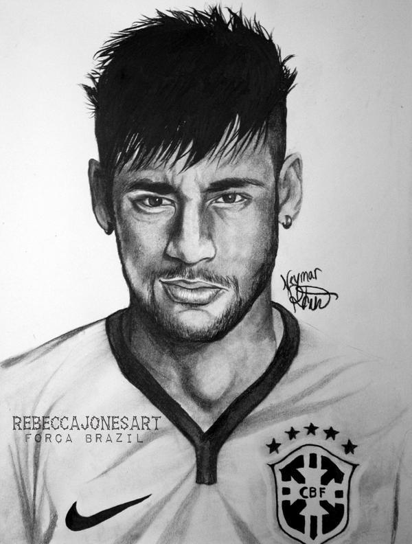 Neymar Jr By RebeccaJonesArt On DeviantArt