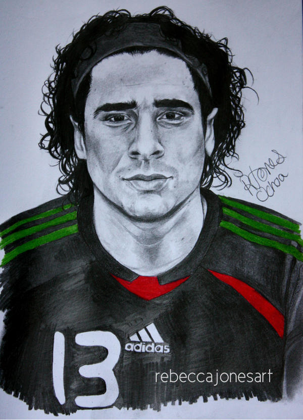 Guillermo ochoa by rebeccajonesart on deviantart - Guillermo ochoa wallpaper ...