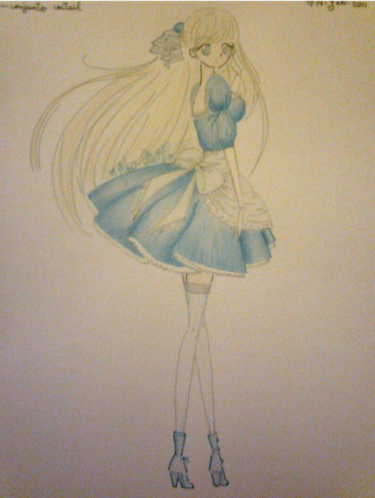 long legs Alice by neko-Alieth
