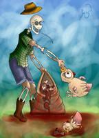 Zombie Rural by Lizeeeee
