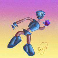 Robot Buenro by Lizeeeee