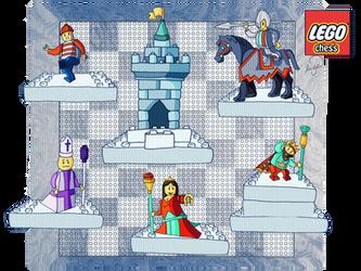 lego chess by Lizeeeee